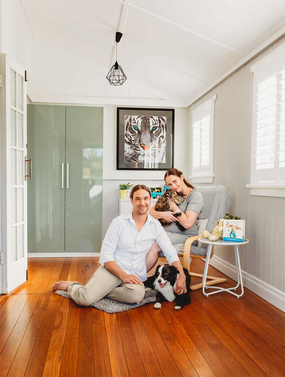 In-home Brisbane family photographer