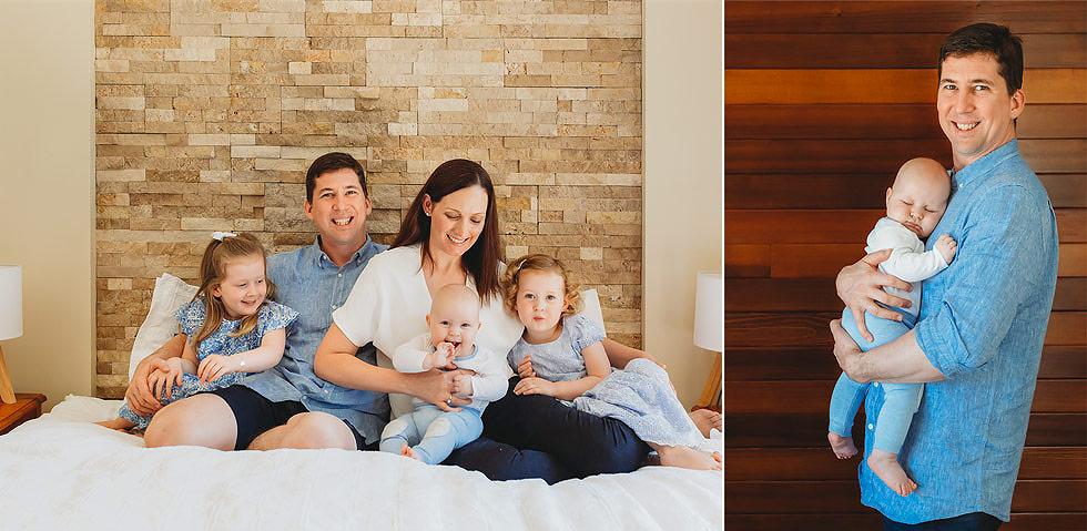 In-home newborn photography Brisbane